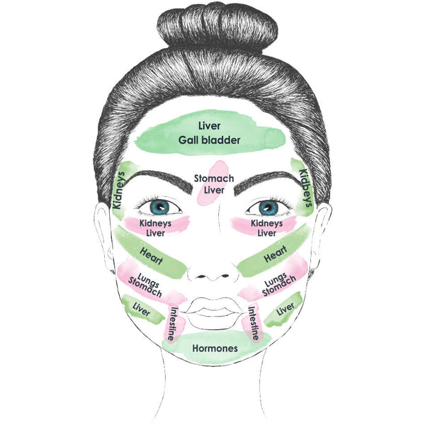 Face Mapping: Acne Causes
