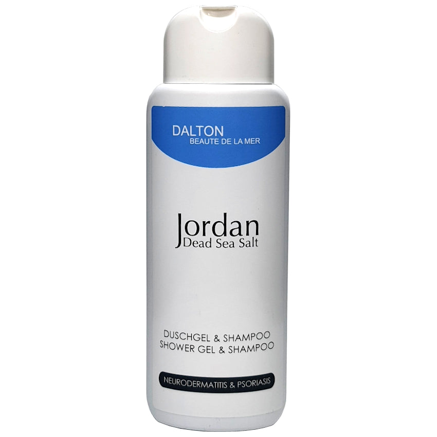 JORDAN DEAD SEA SALT SHOWER GEL & SHAMPOO