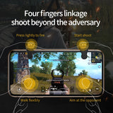 Mobile Phone Gaming Joystick with Cooling Pad