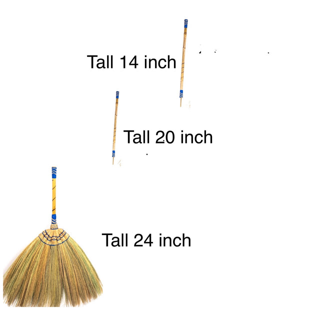 4 in 1 Broom Set Traditional Sweeping Broom - SKENNOVA -Thailand Handmade