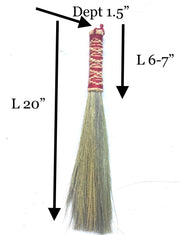 Short Dusting Brush  Broom Grass