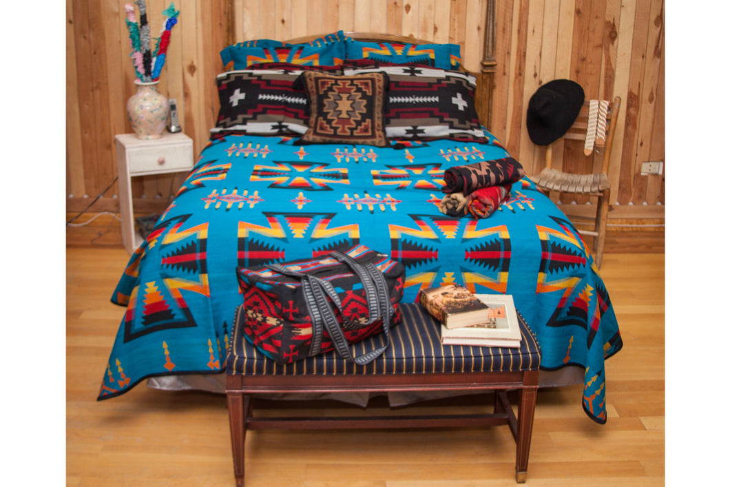 Chief Joseph Southwest Bedspread