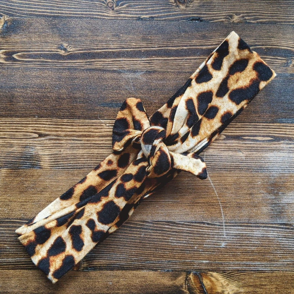 Leopard Stretch Headband - More Than Rubies Designs