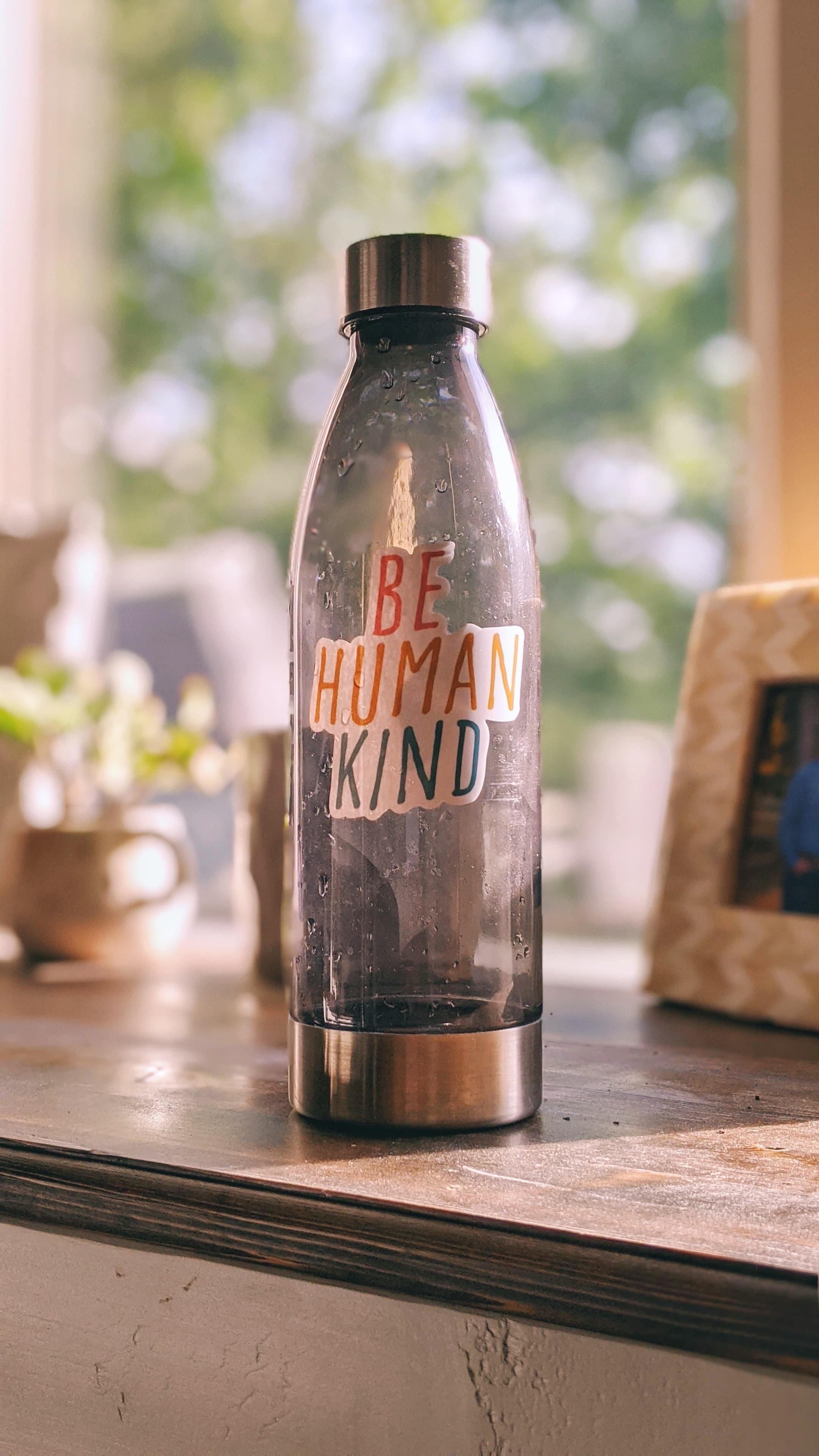 Be Human Kind Sticker - More Than Rubies Designs