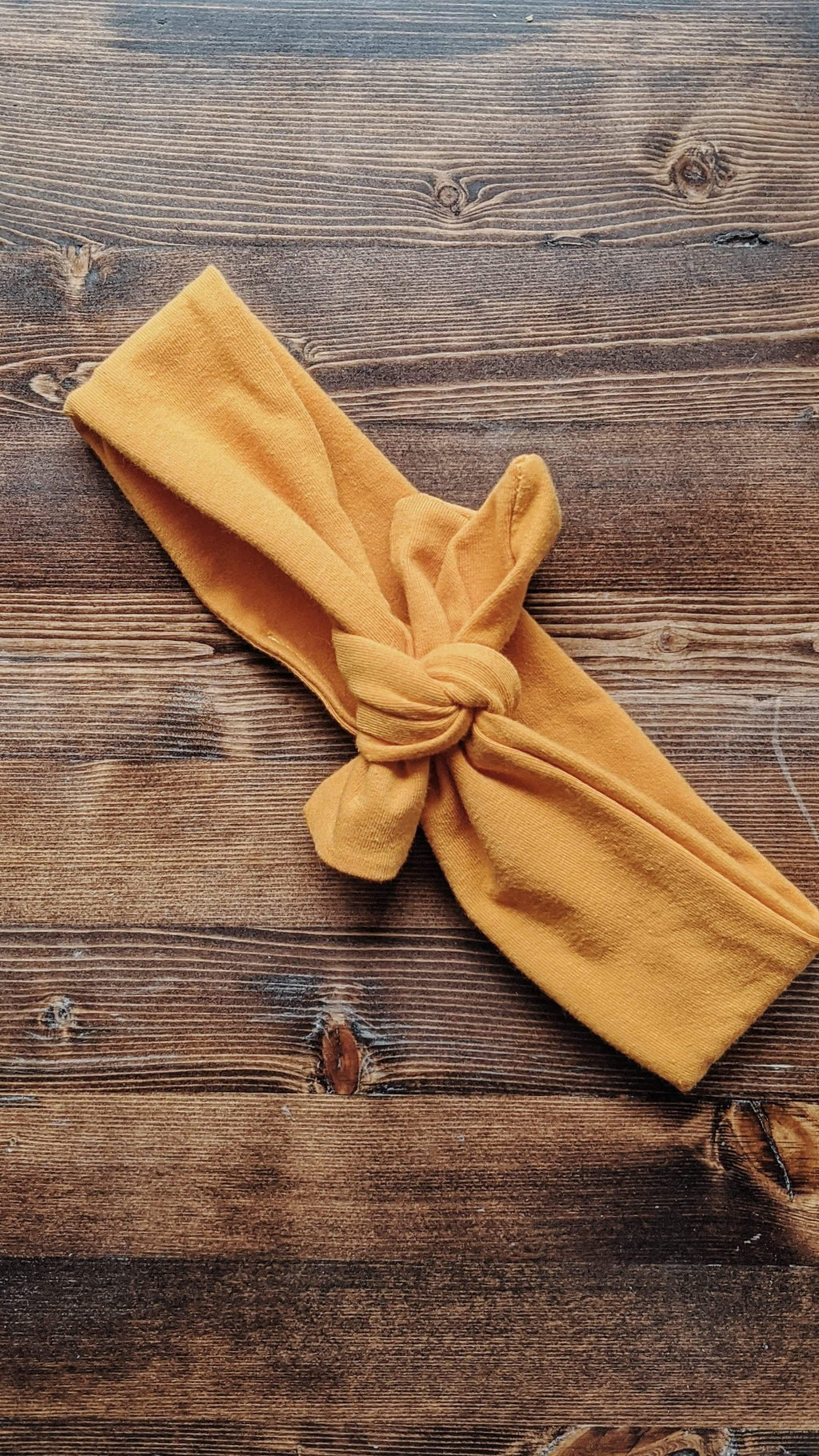 Mustard Stretch Headband - More Than Rubies Designs