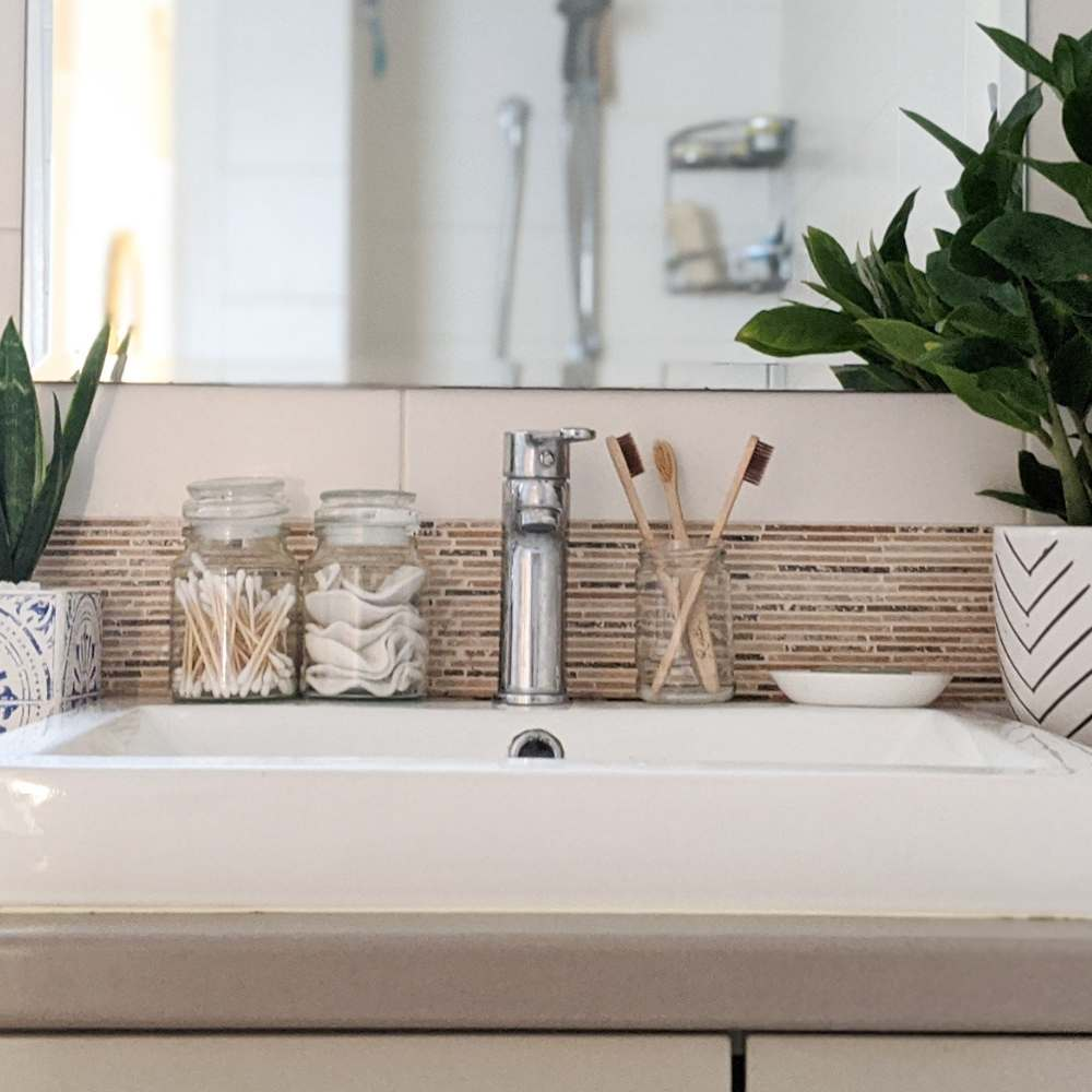 how to create a zero waste bathroom