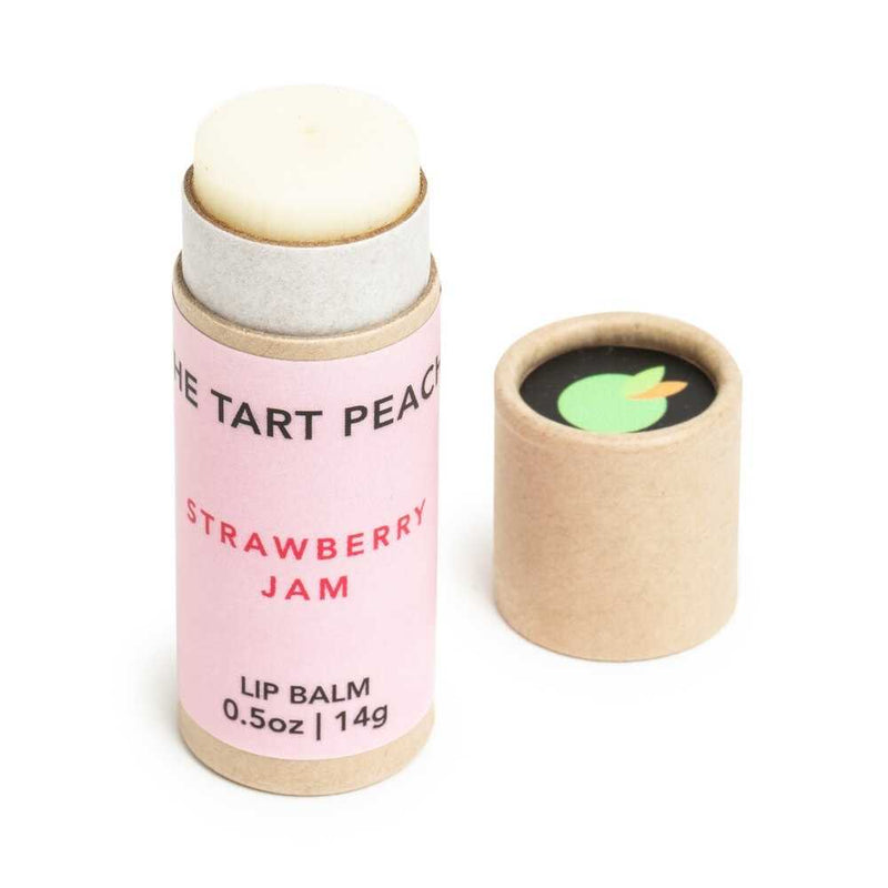 Strawberry Jam Lip Balm | The Tart Peach