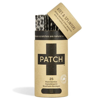 Activated Charcoal Bamboo Adhesive Strips (Tube of 25) | PATCH