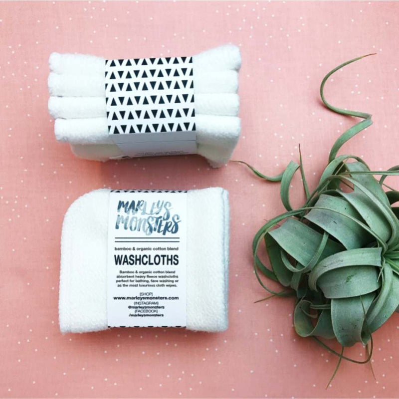 Bamboo Wash Cloth | Marleys Monsters