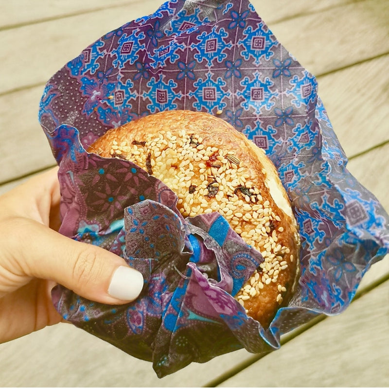 Reusable Beeswax Wraps (3 Pack) | Bare Vida