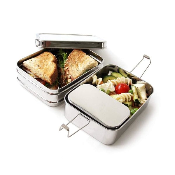 Stainless Steel Lunch Box - Three-in-One Classic