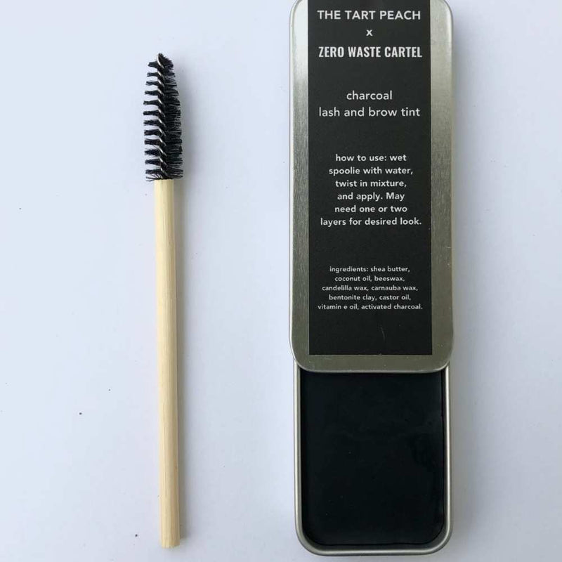 Charcoal Lash & Brow Tint - 100% Natural Mascara