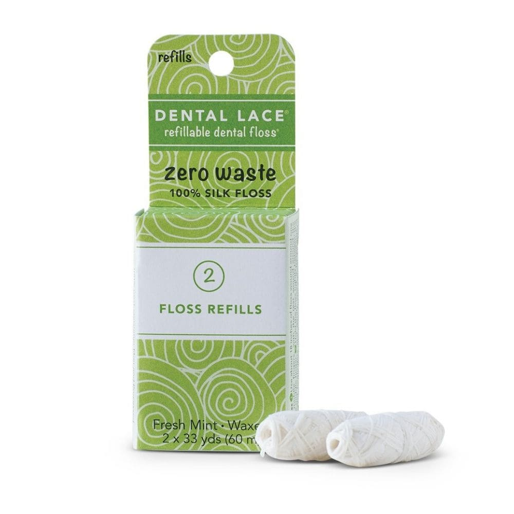 Zero Waste Silk Floss (Refills) - Dental Lace