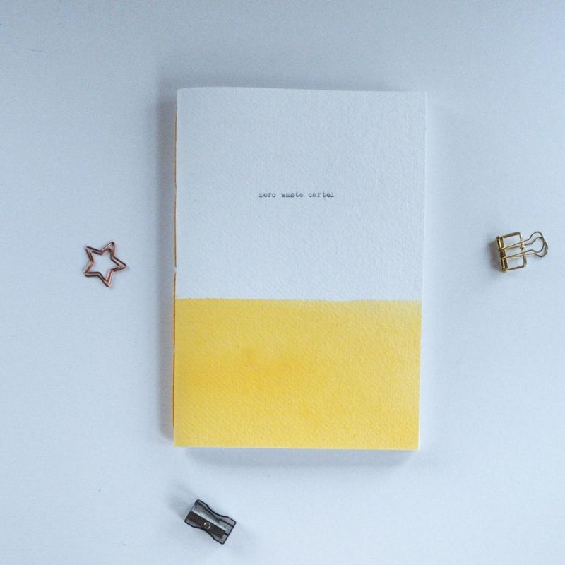 Hand-Stitched Sustainable Notebook