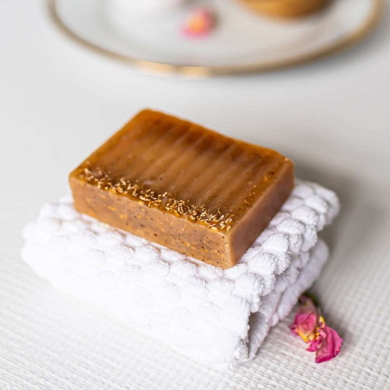 Japanese Cherry Blossom Teakwood Soap Bar | Humby Organics