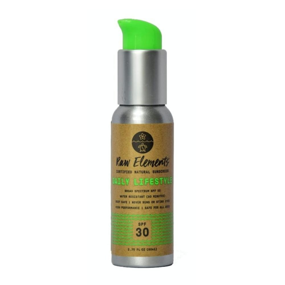 SPF 30 | Reef Safe Sunscreen - Daily Lifestyle Pump by Raw Elements