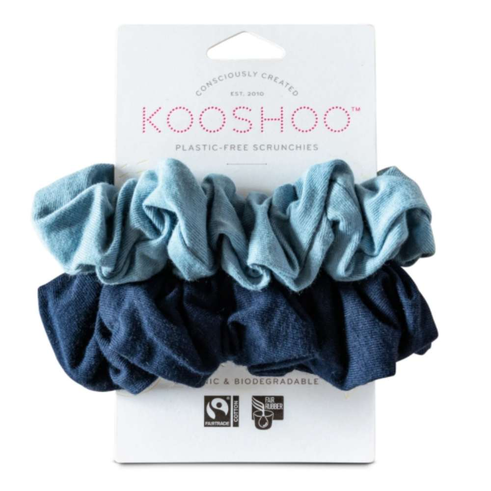 Plastic-Free & Organic Cotton Scrunchies