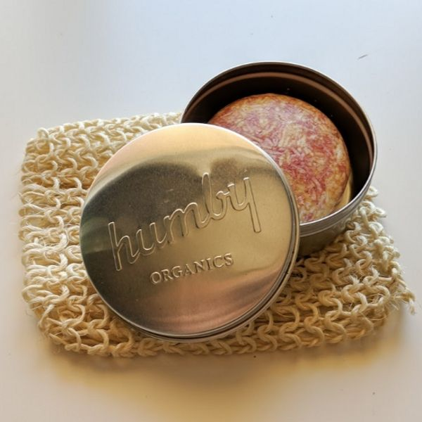 Humby Organics Stainless Steel Tin (for Shampoo & Conditioner Bars)