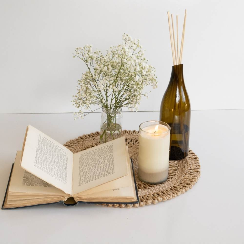 Handpoured Candle & Diffuser Combo | Humby Organics