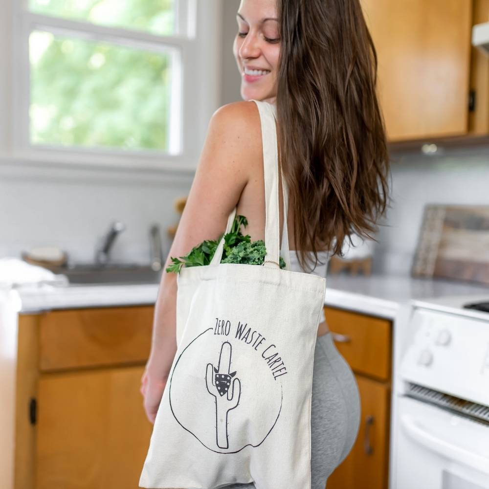 Reusable Cotton Tote Bag