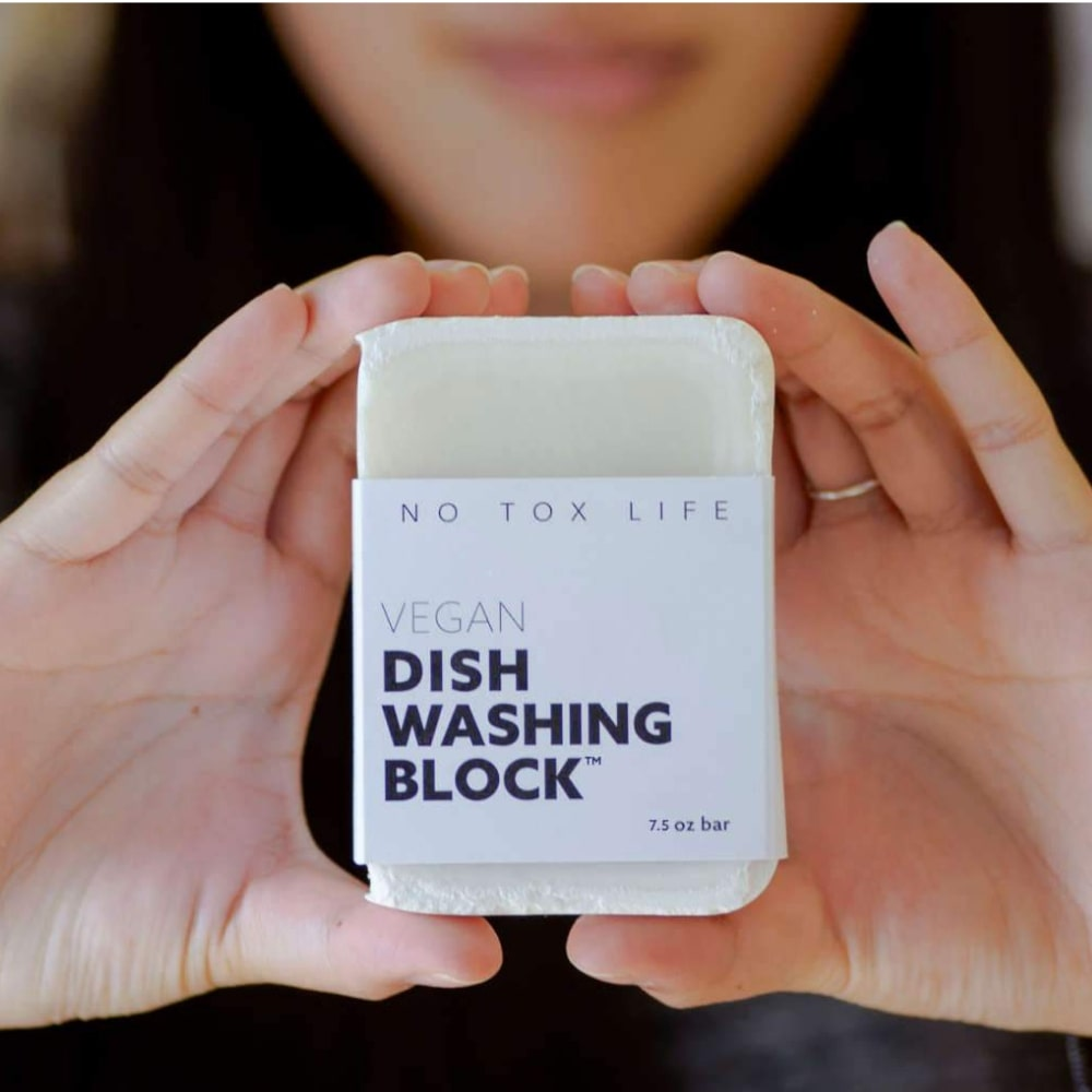 Vegan Dish Washing Block™ bar 7.5oz | No Tox Life