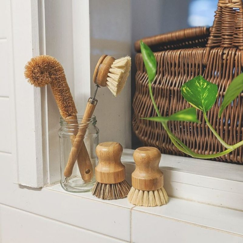 Zero Waste Kitchen Kit - Wooden Dish Brushes [4-Pack]