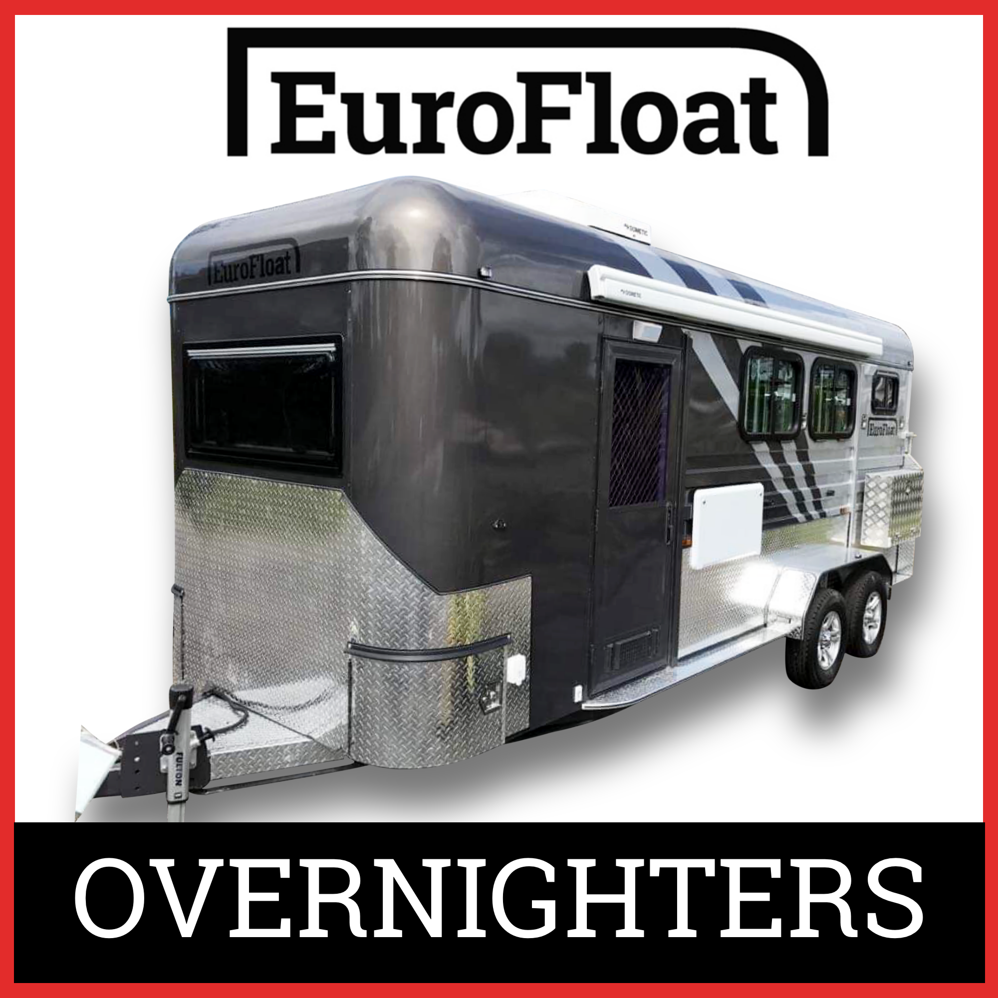 EuroFloat 2HAL Overnighter Horse Floats Australia