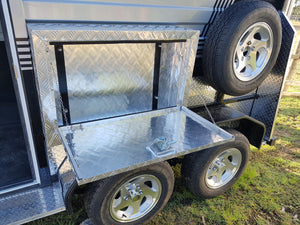 2HSL-L400 Deluxe Package - Eurofloat Horse Float Trailer Sale Hire Angle Straight Load Warm Blood