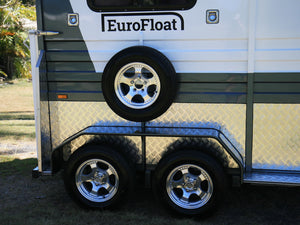 2HSL-L1000 Deluxe Package - Extended Height - Eurofloat Horse Float Trailer Sale Hire Angle Straight Load Warm Blood