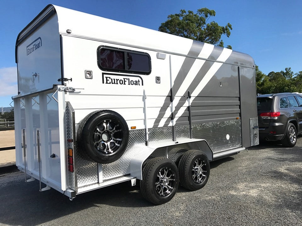 SN 2HAL Overnighter package - Eurofloat Horse Float Trailer Sale Hire Angle Straight Load Warm Blood