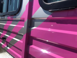 Pink 3HAL-Deluxe October 2019 - Eurofloat Horse Float Trailer Sale Hire Angle Straight Load Warm Blood