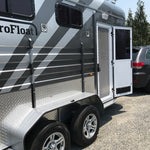 2019 2HAL Deluxe SN Gun metal - Eurofloat Horse Float Trailer Sale Hire Angle Straight Load Warm Blood