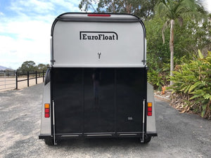 2HSL-Deluxe 2019 Model Extended Height & Length - Eurofloat Horse Float Trailer Sale Hire Angle Straight Load Warm Blood