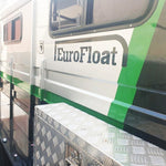 3 HAL-Deluxe 2019 Model - Eurofloat Horse Float Trailer Sale Hire Angle Straight Load Warm Blood