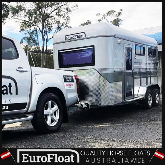 2HAL-Deluxe Square Nose L860 Dec 2018 Model - Eurofloat Horse Floats Cheap Sale Used Best