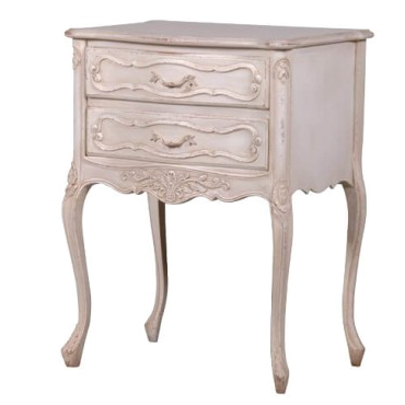 Dordogne 2 Drawer Bedside Table