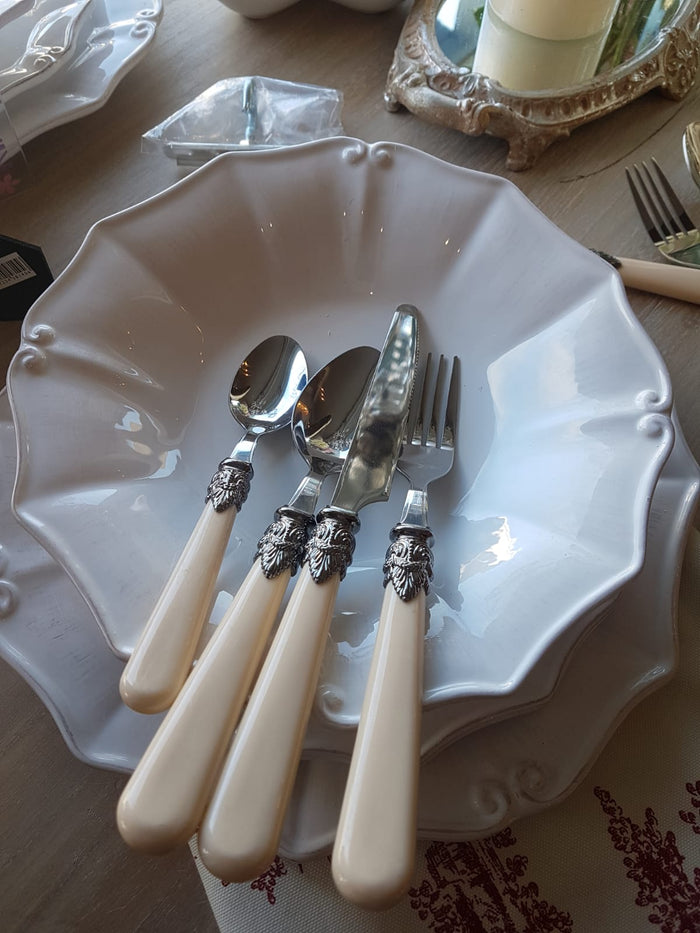 Vintage French style cutlery set