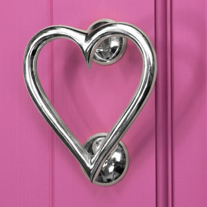 Heart Shapped Door Knocker