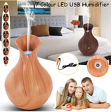 Air Humidifier  (Ultrasonic Oil Aroma Diffuser)