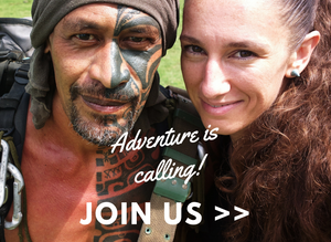 Hakaui adventure with Tangy and Ana (Marquesas Islands)