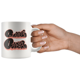 """DVCK: Another October Black Bubbles"" - 11oz White Coffee Mug"