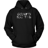 """AO APPAREL: Grand Rapids Skyline"" Unisex Hoodie (Multiple Colors Available)"