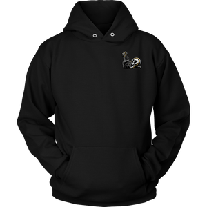 """AO APPAREL: Coffee To The Coffin"" Unisex Hoodie (Multiple Colors Available)"
