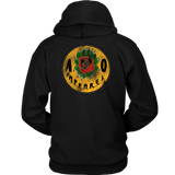 """ANOTHER OCTOBER: The KillRose"" Unisex Hoodie (Black)"