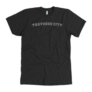 """Traverse City Athletic"" - Multiple Colors Available: American Apparel Tee"