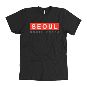 """Seoul Red Band"" - American Apparel Tee"