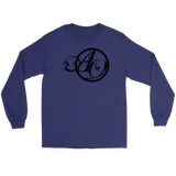 """Purple Another October Script Design"" - Gildan Long Sleeve Shirt"