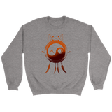 """ANOTHER OCTOBER: Orange Dreamcatcher"" Unisex Crewneck Sweatshirt (Multiple Colors Available)"