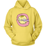 """90's COLLECTION: Bum Gum"" Yellow Unisex Hoodie"