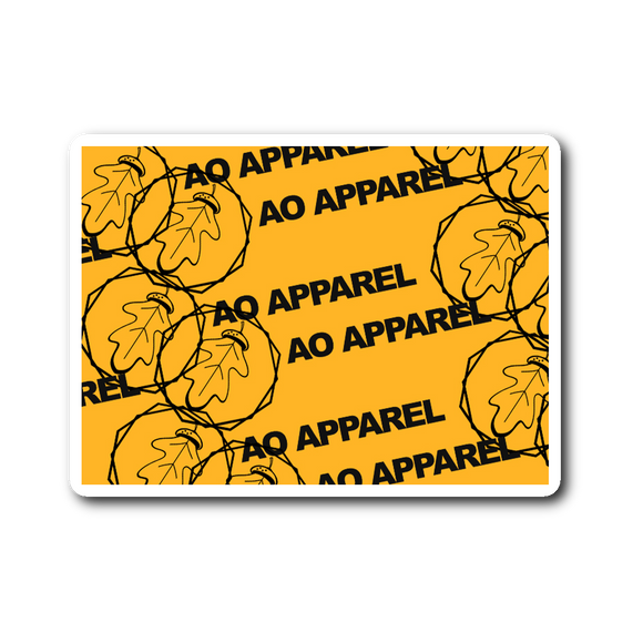 AO Apparel Logo Sticker